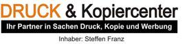 Steffen Franz - Druck & Kopiercenter Steffen Franz - Logo